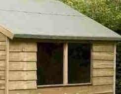 8' x 6' Shed-Plus Pressure Treated Overlap Shed Windows