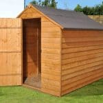 8' x 6' Shed-Plus SUPER SAVER Overlap Shed
