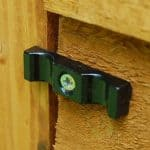 8' x 6' Shed-Plus SUPER SAVER Overlap Shed Padlock Feature