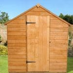 8' x 6' Shed-Plus SUPER SAVER Overlap Shed Single Close Door