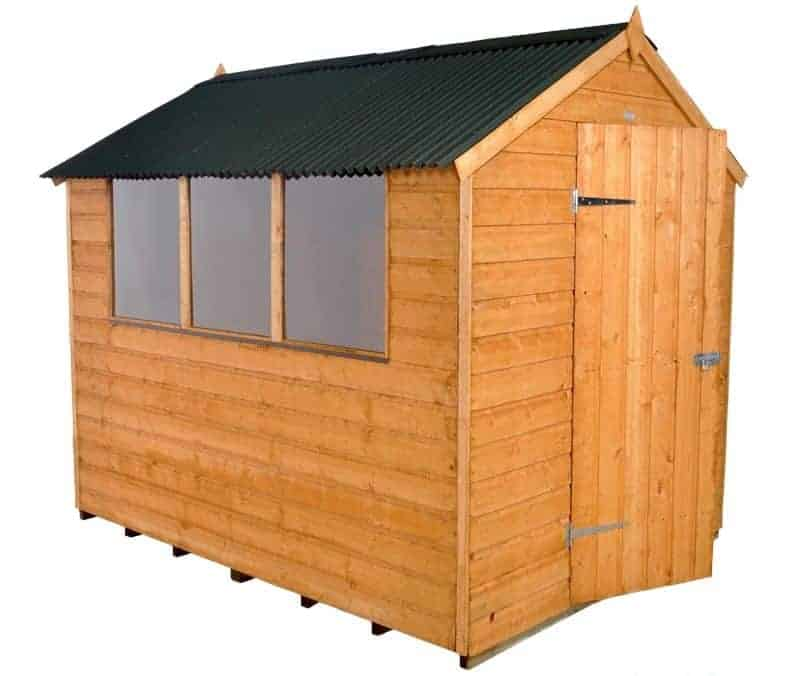 8' x 6' Shed-Plus Shiplap Shed with Onduline Roof
