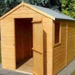 8' x 6' Shire Apex Durham Single Door Shed