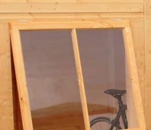 8' x 6' Shire Pent Shiplap Shed Window