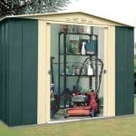 8 x 6 StoreMore Canberra Eight Apex Metal Shed