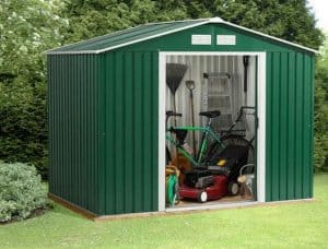 8 x 6 StoreMore Emerald Rosedale Apex Metal Shed