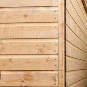 8 x 6 Tongue & Groove Apex Shed Sustainable Homes Code Compliant External Cladding