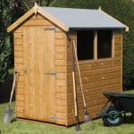 8' x 6' Traditional Standard Apex Shed