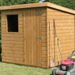 8' x 6' Traditional Standard Pent Shed
