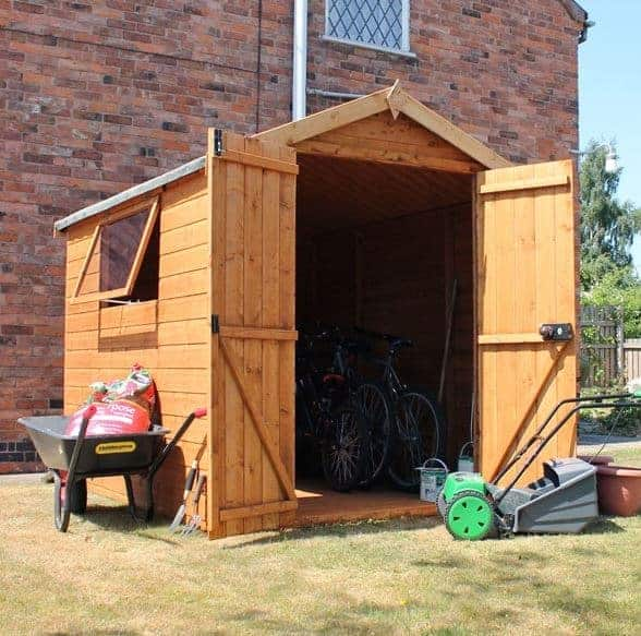 Garden Sheds 8x6 delighful garden sheds 8x6 wooden shed for inspiration decorating
