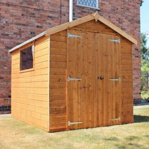 8' x 6' Waltons Groundsman Tongue and Groove Apex Garden Shed