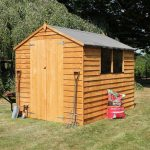 8 x 6 Waltons Overlap Apex Wooden Shed DD Overall Appearance