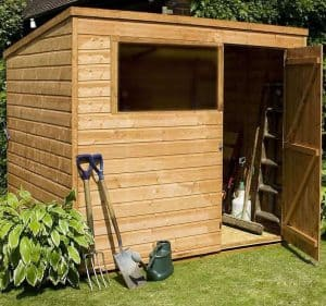 8' x 6' Windsor Multi-Purpose Pent Shed