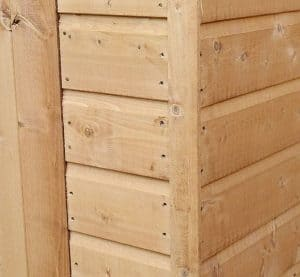 8' x 6' Windsor Multi-Purpose Pent Shed Cladding