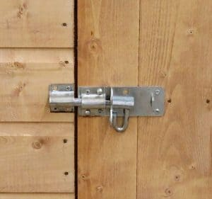8' x 6' Windsor Multi-Purpose Pent Shed Pad Bolt