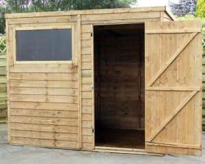 8' x 6' Windsor Overlap Pent Garden Shed