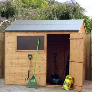 8' x 6' Windsor Shiplap Reverse Apex Shed