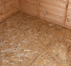 8' x 6' Windsor Shiplap Reverse Apex Shed Flooring