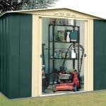 8' x 7' Shed Baron Grandale Eight Metal Shed