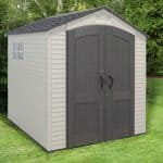 8' x 7'5 Lifetime Heavy Duty Plastic Shed