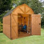 8 x 8 Premier Groundsman Dutch Barn Shed (No Windows)