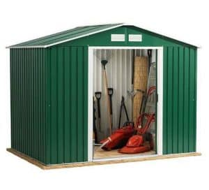 8 x 8 Store More Emerald Rosedale Apex Metal Shed