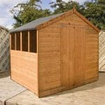 8 x 8 Tongue & Groove Apex Wooden Garden Shed