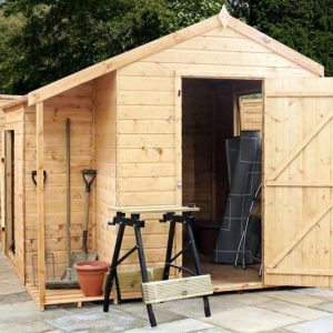 8 x 8 Tongue and Groove Combi Store
