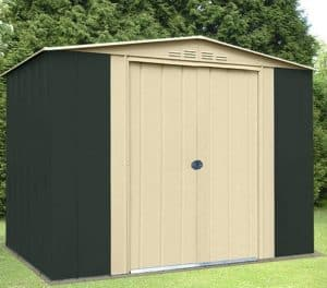 8' x 9' Shed Baron Grandale Eight Metal Shed