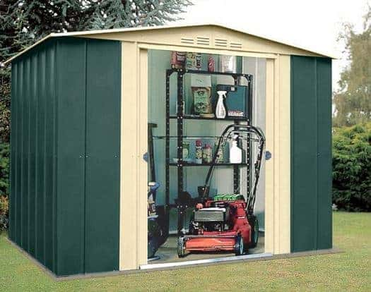 8 x 9 Store More Canberra Eight Apex Metal Shed