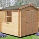 8'10 x 8'10 GardenStyle Camelot Log Cabin