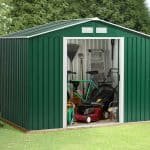 8'7 x 6' Store More Rosedale Metal Shed