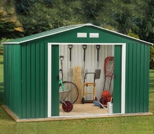 8'7 x 9'11 Store More Rosedale Metal Shed