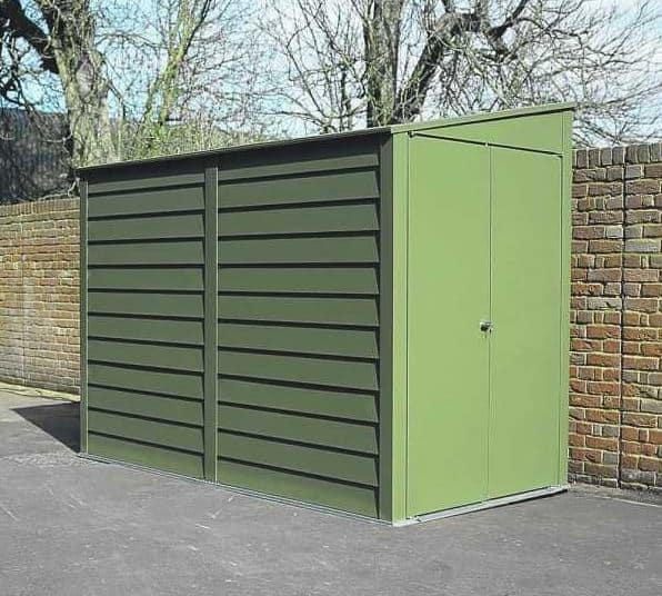 8 8 X 5 3 Trimetals Titan 950 Pent Metal Shed What Shed