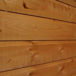 8x4 Waltons Tongue and Groove Pent Garden Shed Wall Cladding