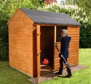 8x6 Shed-Plus Overlap Reverse Apex Shed 2