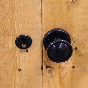 8x8 Waltons Dutch Barn Tongue and Groove Apex Garden Door Security
