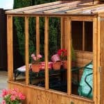 8x8 Waltons Tongue and Groove Combi Greenhouse and Wooden Shed Windows