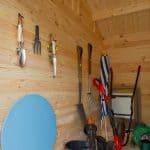 9' x 13'ft Berkshire Thatcham 34mm Log Cabin Internal View