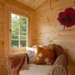 9' x 13'ft Berkshire Thatcham 34mm Log Cabin Windows and Cladding