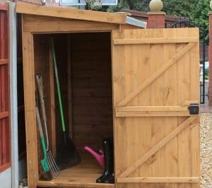 9' x 3' Traditional Pent Tool Store Shed