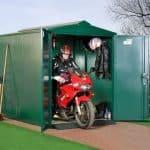 9 x 5 Asgard Motorcycle Secure Storage Garage