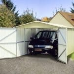 9'10 x 17'2 Yardmaster 1017 Metal Garage