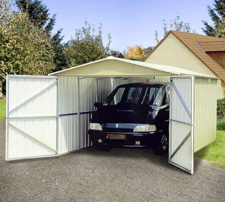 9'10 x 17'2 Yardmaster 1017 Metal Garage