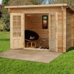 9'10 x 6'7 Berkshire Highclere Log Cabin