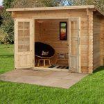 9'10 x 6'7 Berkshire Highclere Log Cabin