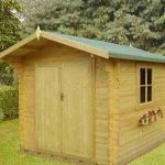 9'10 x 9'10 GardenStyle Angers 2 Log Cabin
