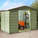 9'11 x 12'5 Yardmaster 1012SL Metal Shed