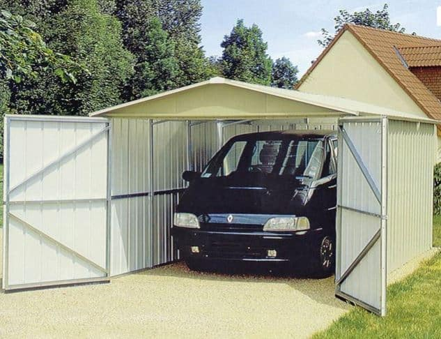 9ft 8 x 17ft 1 Yardmaster Apex Metal Garage