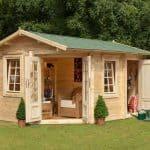 9'x13'ft Berkshire Bucklebury 34mm Log Cabin