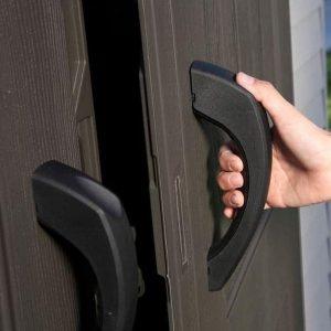 Lifetime 10 x 8 Dual Entrance Reverse Apex Plastic Shed Door Handle